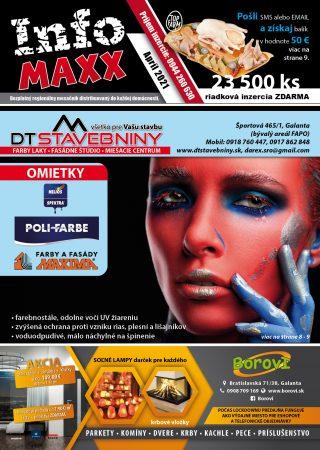 InfoMAXX Apríl 2021